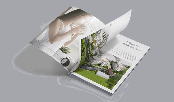 Projektmarketing Wohnsitz Wohnen an der Itz Coburg